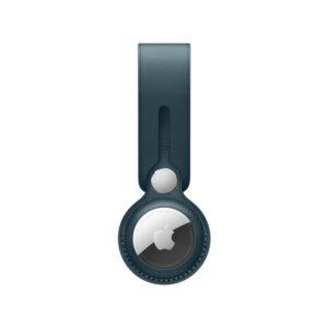 כיסוי ל AirTag מקורי כחול בלטי עור AirTag Loop