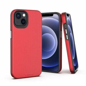 כיסוי לאייפון 13 מיני אדום קשיח שתי שכבות Toiko X-Guard