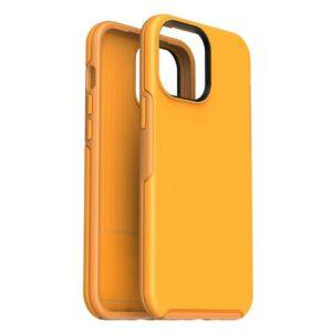כיסוי לאייפון 12 כתום חזק ועמיד במיוחד מעניק הגנה מושלמת Nanox