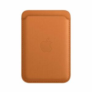 ארנק לאייפון MagSafe Wallet חום זהוב עור מקורי