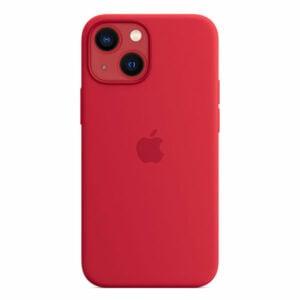 כיסוי לאייפון 13 מיני מקורי אדום Product RED סיליקון תומך MagSafe