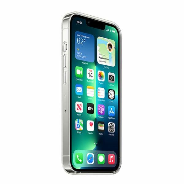 כיסוי לאייפון 13 פרו מקורי שקוף תומך MagSafe