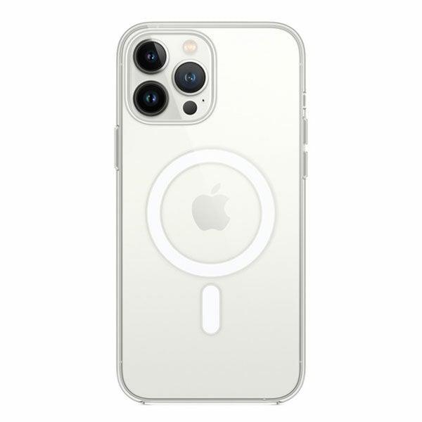 כיסוי לאייפון 13 פרו מקס מקורי שקוף תומך MagSafe