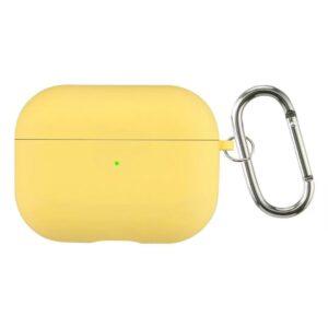 כיסוי סיליקון לאיירפודס פרו צהוב
