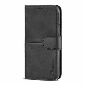 כיסוי לאייפון 13 פרו ארנק שחור עם מקום לכרטיסי אשראי Duo Premium