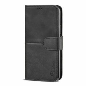 כיסוי לאייפון 13 פרו מקס ארנק שחור עם מקום לכרטיסי אשראי Duo Premium