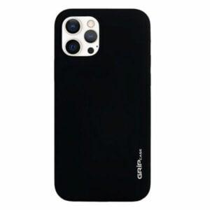 מגן לאייפון 13 פרו שחור סיליקון עם מגנט מובנה Grip Case