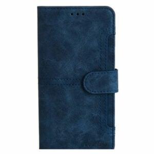 כיסוי ארנק לאייפון 13 פרו מקס כחול מגנטי מתפרק Pouchino IDEAL Magnetic