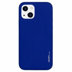 מגן לאייפון 13 כחול סיליקון עם מגנט מובנה Grip Case