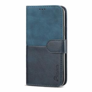 כיסוי לאייפון 13 פרו ארנק כחול עם מקום לכרטיסי אשראי Duo Premium
