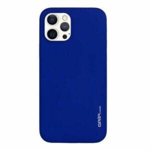 מגן לאייפון 13 פרו כחול סיליקון עם מגנט מובנה Grip Case