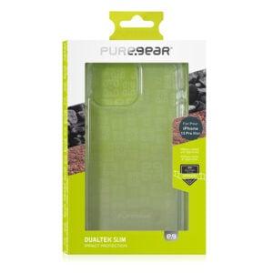 כיסוי לאייפון 13 פרו מקס שקוף מגן תקן הגנה צבאי PureGear DualTek Slim