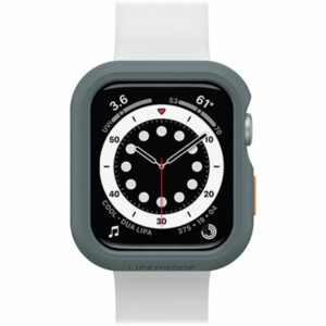 """מגן לשעון אפל 44 מ""""מ אפור Otterbox Lifeproof המגן החזק בעולם"""