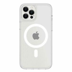כיסוי לאייפון 13 פרו שקוף חלק דק תומך MagSafe אלגנטי Skech Crystal