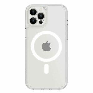 כיסוי לאייפון 13 פרו מקס שקוף חלק דק תומך MagSafe אלגנטי Skech Crystal
