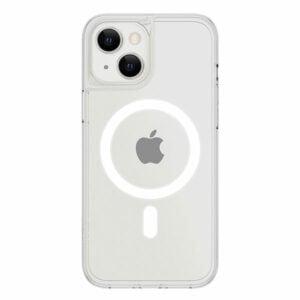 כיסוי לאייפון 13 שקוף חלק דק תומך MagSafe אלגנטי Skech Crystal