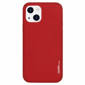 מגן לאייפון 13 אדום סיליקון עם מגנט מובנה Grip Case
