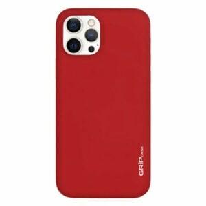 מגן לאייפון 13 פרו אדום סיליקון עם מגנט מובנה Grip Case