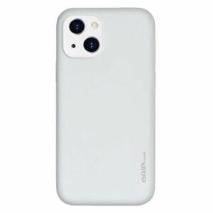 מגן לאייפון 13 לבן סיליקון עם מגנט מובנה Grip Case