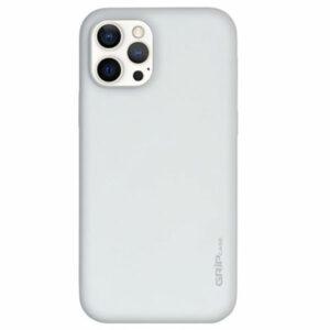 מגן לאייפון 13 פרו לבן סיליקון עם מגנט מובנה Grip Case