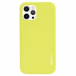 מגן לאייפון 13 פרו מקס צהוב סיליקון עם מגנט מובנה Grip Case